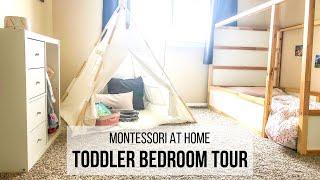 MONTESSORI TODDLER BEDROOM TOUR