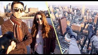 NEW YORK AERIALS with SARA 🍑Y & LOK // VLOG 2