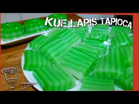 Video Resep Kue Lapis Tapioca.