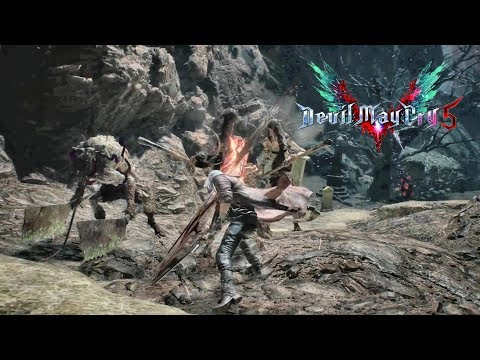 [Finally New PS4 Demo] Devil May Cry 5 2nd Demo SSS 100% Run PS4 PRO