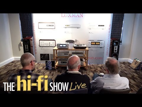 New Luxman L509X Integrated HiFi Amplifier Dali Epicon Room @ Hi-Fi Show Live 2017