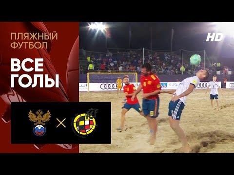 08.11.2019 Россия - Испания - 2:4. Все голы