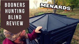 Menards Booner Deer Hunting Box Blind Review! Michigan Hunting! LP Deer Camp