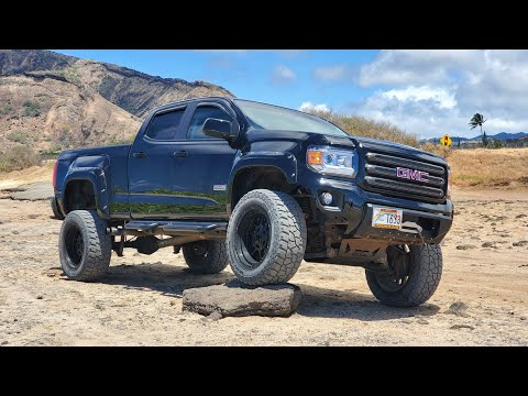 2016 GMC CANYON 4x4 ALL CURRENT MODS