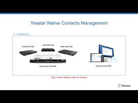 Webinar: New Features Launched with New Firmware for Yeastar PBX