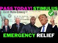 TODAY! EMERGENCY Second Stimulus Check Update!  Unemployment Benefits