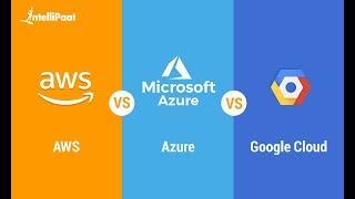AWS vs Azure vs GCP | Amazon Web Services vs Microsoft Azure vs Google Cloud Platform | Intellipaat
