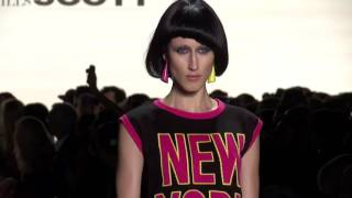 Jeremy Scott Woman New York SS 2017