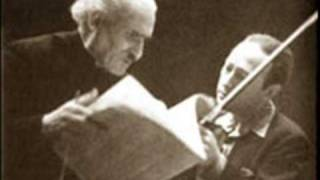 Heifetz plays Mendelssohn Violin Concerto - First Movement