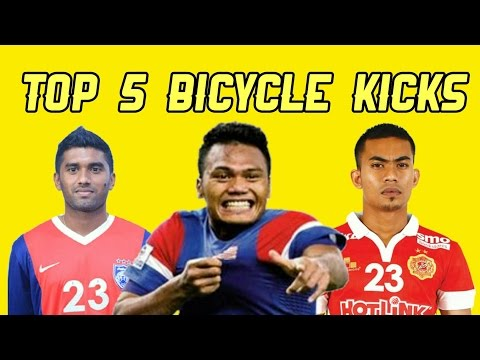 Top 5 Bicycle Kick Goals From Malaysia Player