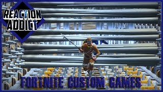 FORTNITE CUSTOM GAMES - Ft LazarBeam, Muselk, Lachlan and Ali-A