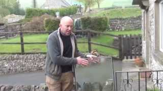 How To Replace Broken Window Smashed or Misted Up Double Glazing Pane in Windows