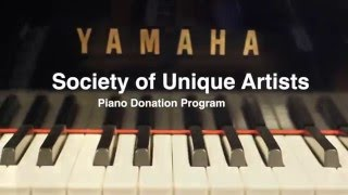 The Society of Unique Artists Piano Donation Commercial