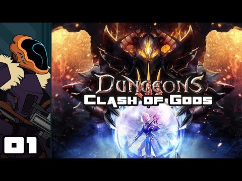 Let's Play Dungeons 3: Clash of Gods DLC - PC Gameplay Part 1 - Education On The Fly! (видео)