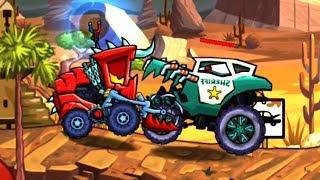 КТО КОГО ПОБЕДИТ в игре  CAR EATS CAR 3 - МАШИНА ест МАШИНУ - ХИЩНЫЕ  МАШИНКИ (13)