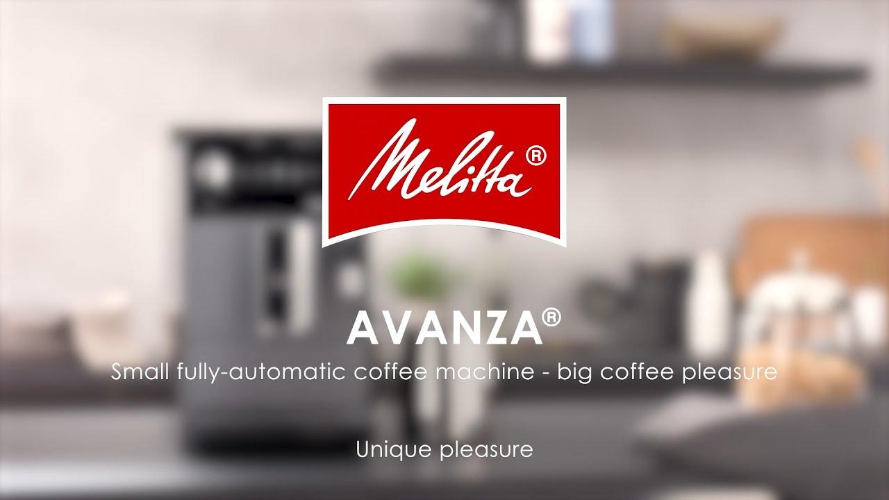"""Melitta® Avanza®"" itin kompaktiškas automatinis kavos aparatas"