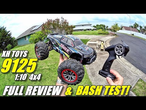 XH TOYS 9125 1:10 4×4 RC Truck Review – (Unboxing, Inspection, Bash Test!, Pros & Cons)