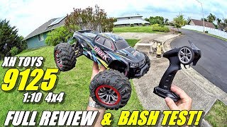 XH TOYS 9125 1:10 4x4 RC Truck Review - (Unboxing, BASH/CRASH Test!, Pros & Cons)