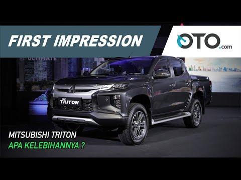 Mitsubishi Triton | First Impression | Pakai Mesin Pajero Sport | OTO.com