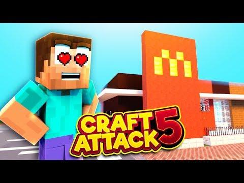 Ein McDonalds in CraftAttack! - CraftAttack 5 #31