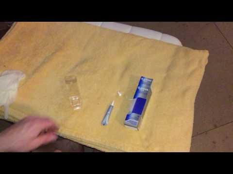 Die Behandlung nach der Abnahme naroschtschennyje der Nägel