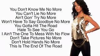 Aaliyah - Those Were The Days (Lyrics)