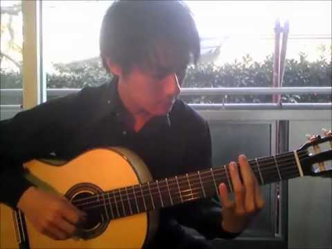 Lullaby of birdland solo guitar covered by Tanaka Yoshinori (With Tablature) Jazz Cover Acoustic
