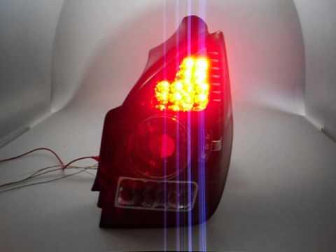 LED Rückleuchten für Citroen C2 02-05 schwarz by SW-Tuning