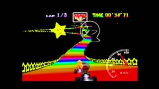 MK64 - former world record on Rainbow Road flap - 1'56''91 (NTSC: 1'37''23)
