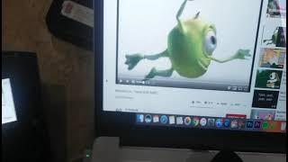 Monsters Inc On My Schools Loudspeaker
