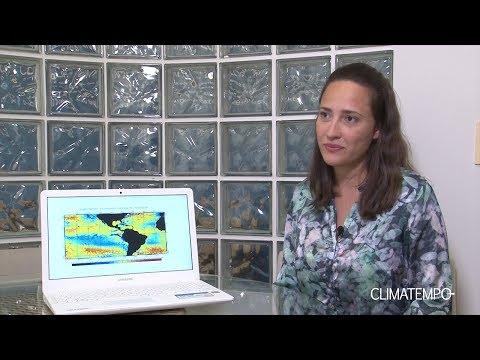 El Niño no fim de 2018 e a chuva de verão no Brasil
