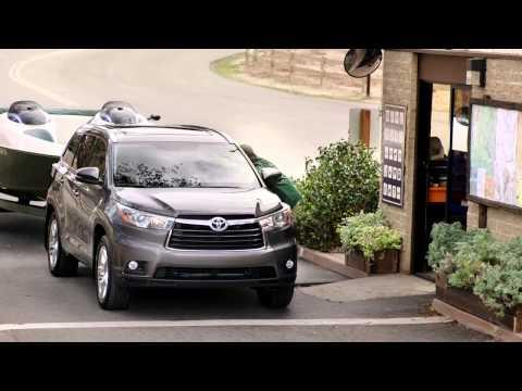 Toyota  Highlander Паркетник класса J - рекламное видео 2