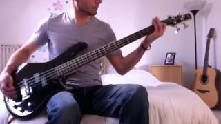 The Offspring - Gone Away - Bass Cover