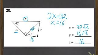 Combined Special Right Triangles