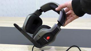 [DEUTSCH] Cooler Master CM Storm Sirus 5.1 Gaming Headset Testbericht