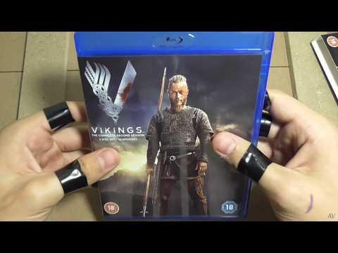 Vikings  Season 2 Blu ray unboxing ASMR