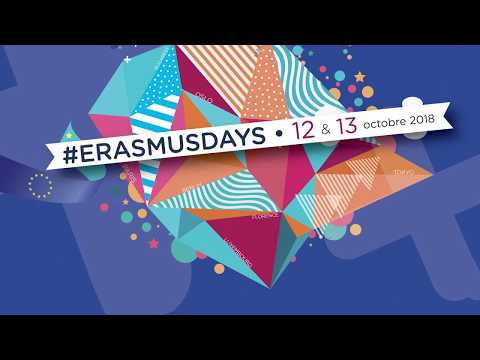 Video : Participer aux #ErasmusDays 2018