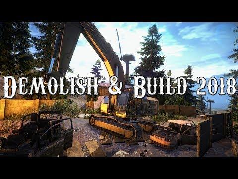 Demolish & Build 2018   Exkluzivní Pohled Před Vydáním Hry!   CZ/SK
