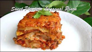 Sweet Plantain Lasagna / Pinon