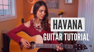Havana - Camila Cabello | Easy Fingerpicking Guitar Tutorial