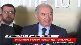 İstanbul'da su fiyatlarına yüzde 15 indirim