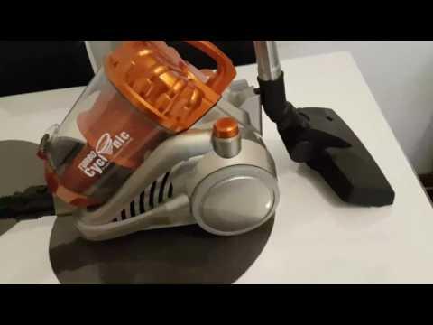 Turbo Tronic 1400 Watt Zyklon Staubsauger Beutellos mit Hepa Filter