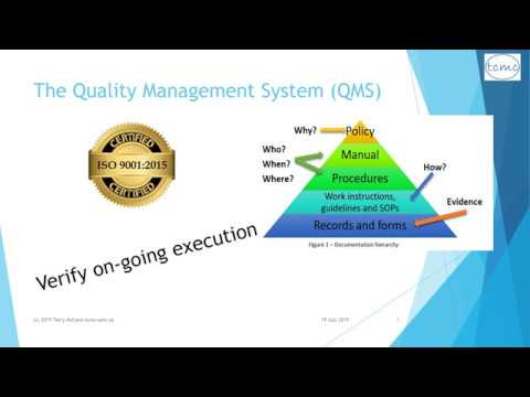 Conducting Internal Quality Audits - an introduction - YouTube