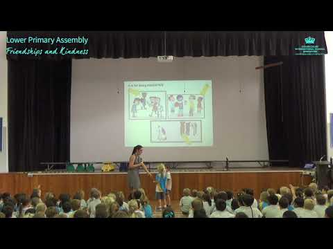 Lower Primary Assembly: Friendships and Kindness