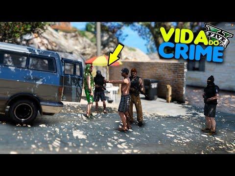 GTA V :  VIDA DO CRIME - LEVEI A MERCADORIA NA FAVELA DA PRAIA ! - #09