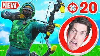Trying *NEW* BOOM BOW with LazarBeam.. (20 Elims)