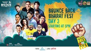 Bounce Back Bharat Fest | Day 3 | Akshay Kumar | Saif Ali Khan | Neeraj Chopra | Fever FM Live