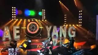 Taeyang-Only look at me (태양-나만바라봐)  @SBS Inkigayo 인기가요 20080601
