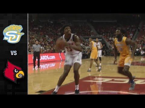 Southern vs. Louisville Basketball Highlights (2018-19)