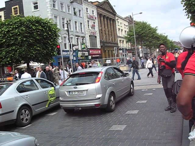 Biafrans In Dublin Ireland During Remembrance Of Our Fallen Heroes on 30th May,2014.